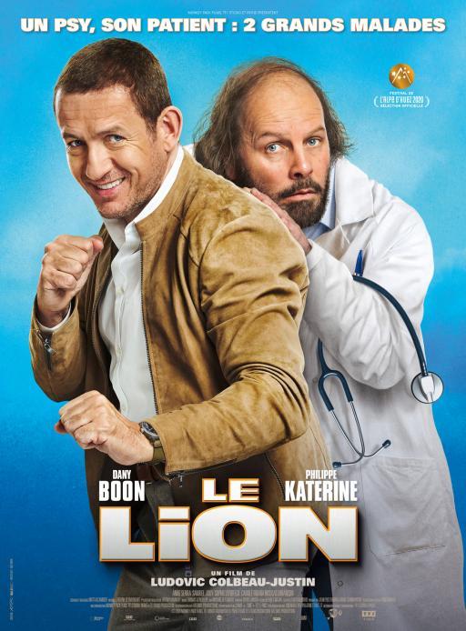 """Affiche du film """"Le Lion"""" actuellement en salle au cinéma Urania"""