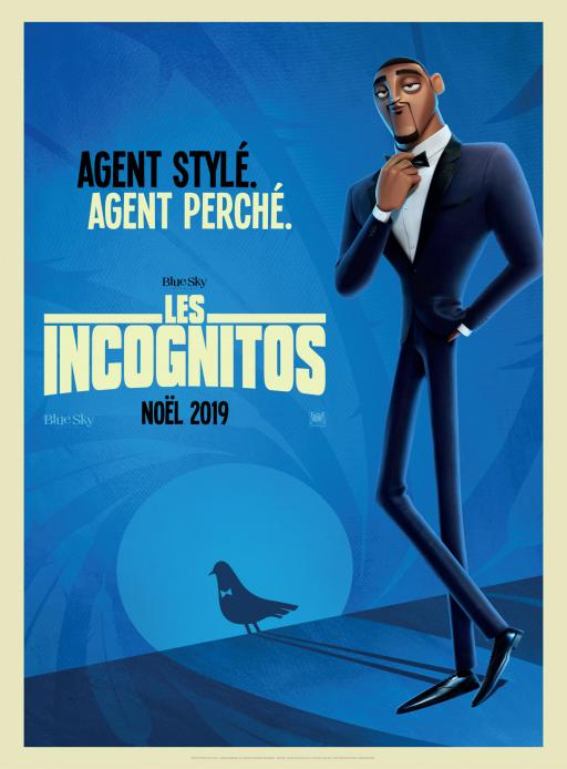"""Affiche du film """"Les Incognitos"""" actuellement en salle au cinéma Urania"""