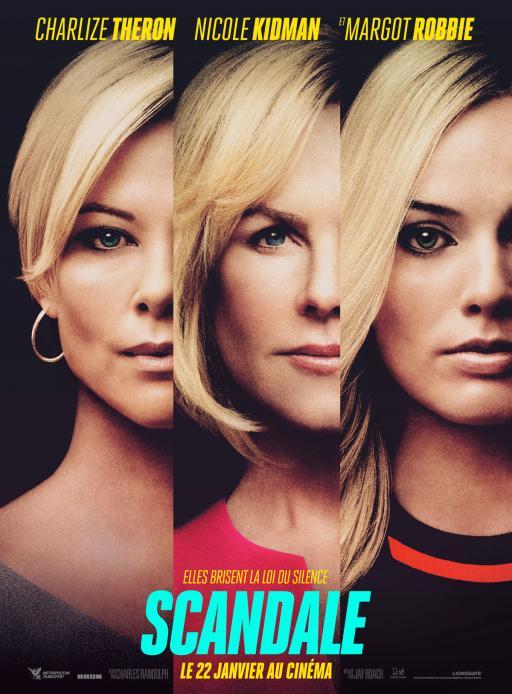 """Affiche du film """"Scandale"""" actuellement en salle au cinéma Urania"""